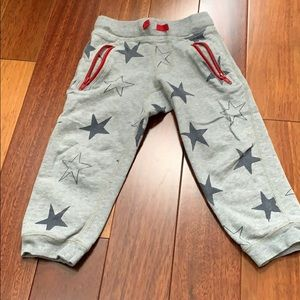 Hanna Andersson star sweat pants size 90